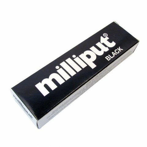 Black Epoxy milliput putty two part apoxie sculpt