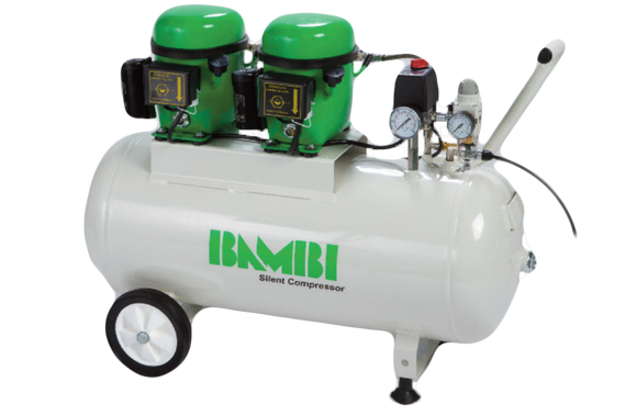 Bambi Air 50l Compressor silent BB50D