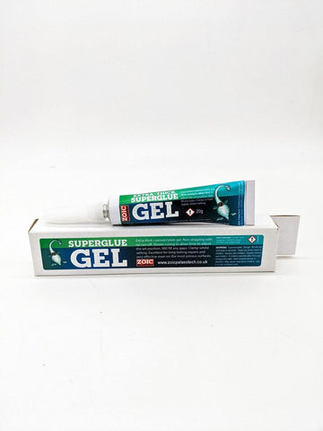 Extra-Thick Gel Superglue 20g - ZOIC PalaeoTech