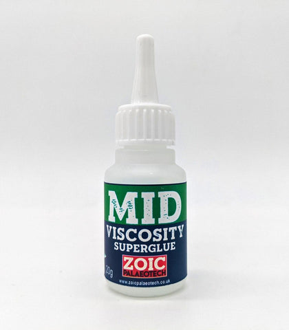 Medium Viscosity Superglue 20g - ZOIC PalaeoTech