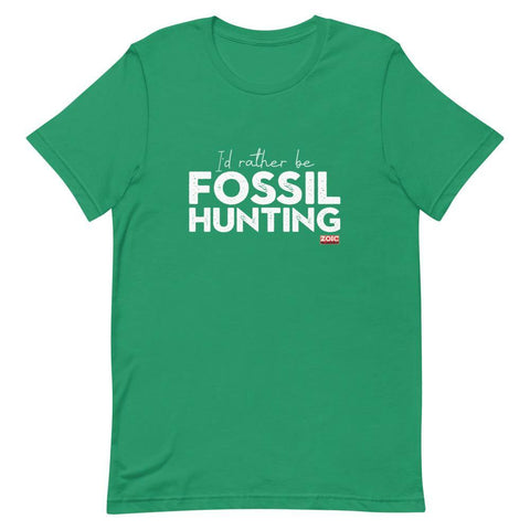 Fossil hunter lover t shirt gift ammonite palaeontology geology