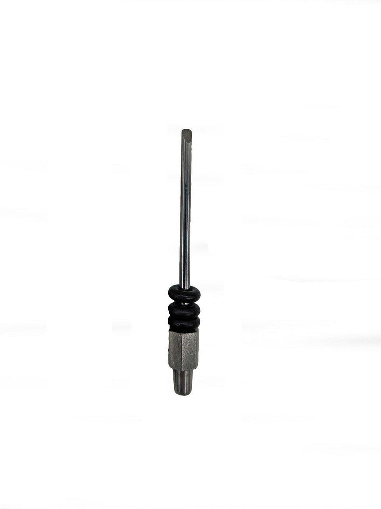 3mm rounded chisel stylus (70mm length) to fit ZPT-TR T-Rex air pen. Manufactured from high grade tungsten carbide.