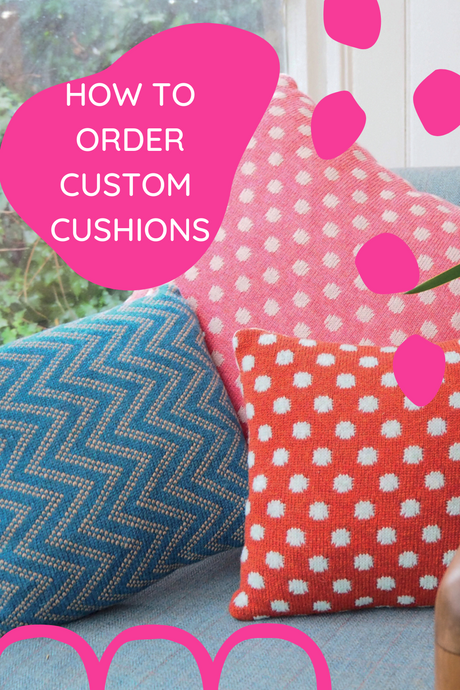 How to Order Custom Cushions