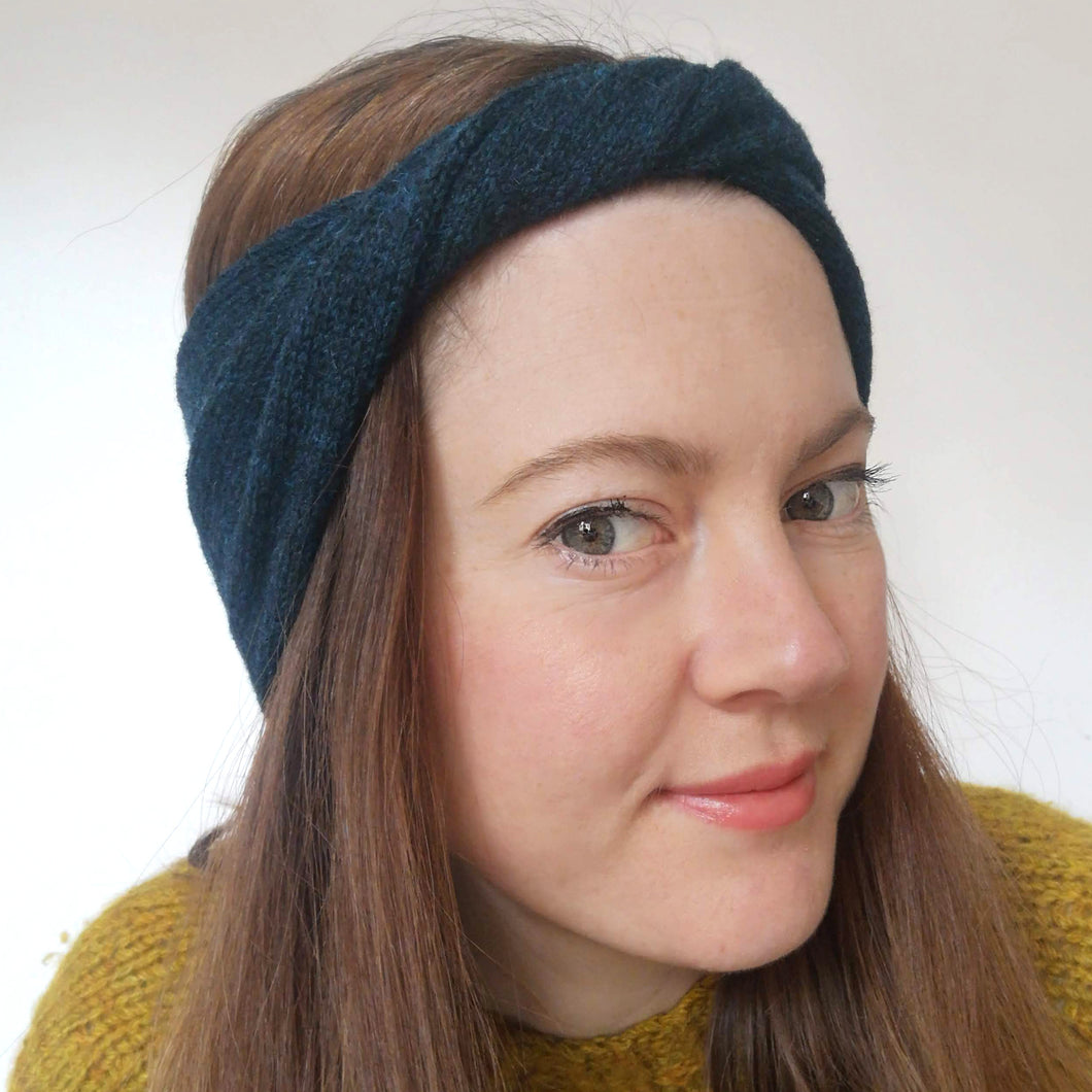 Ziggy Headband - Navy