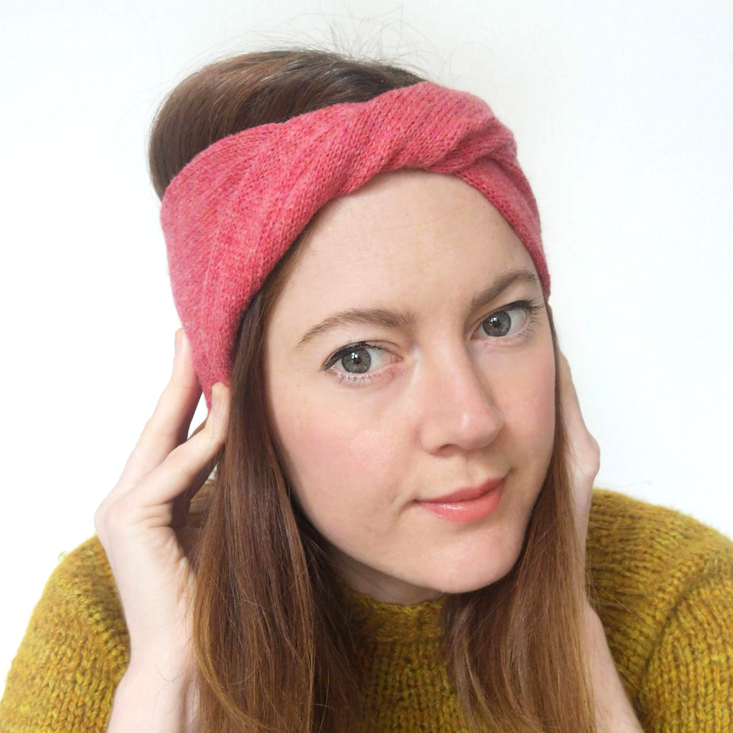 Ziggy Headband - Bubblegum Pink