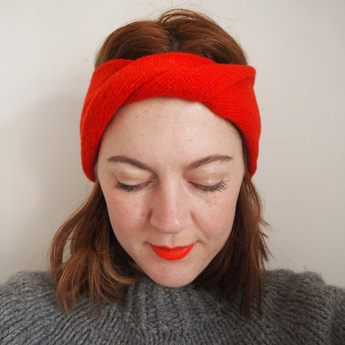 Ziggy Headband - Red