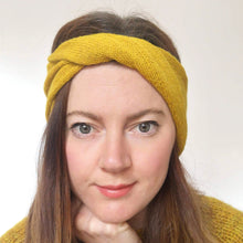 Load image into Gallery viewer, Ziggy Headband - Yellow