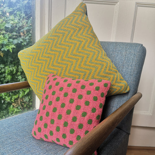 Custom Cushions: Set of 1 Large, 1 Small