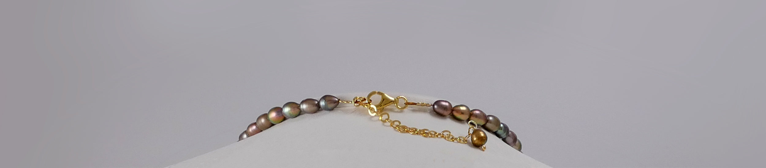 Resilience (I) w' Cultured Pearls - Katerina Roukouna
