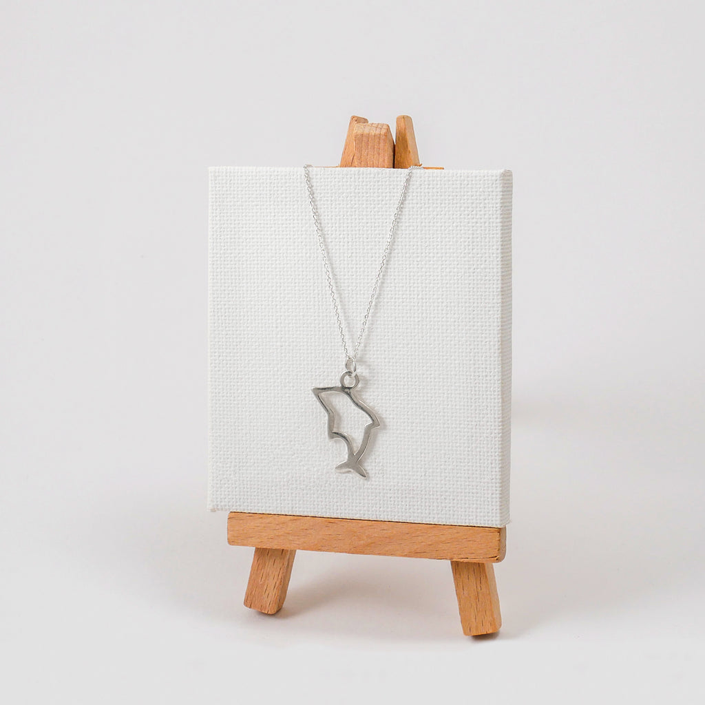 Tiny Dolphin Necklace - Katerina Roukouna