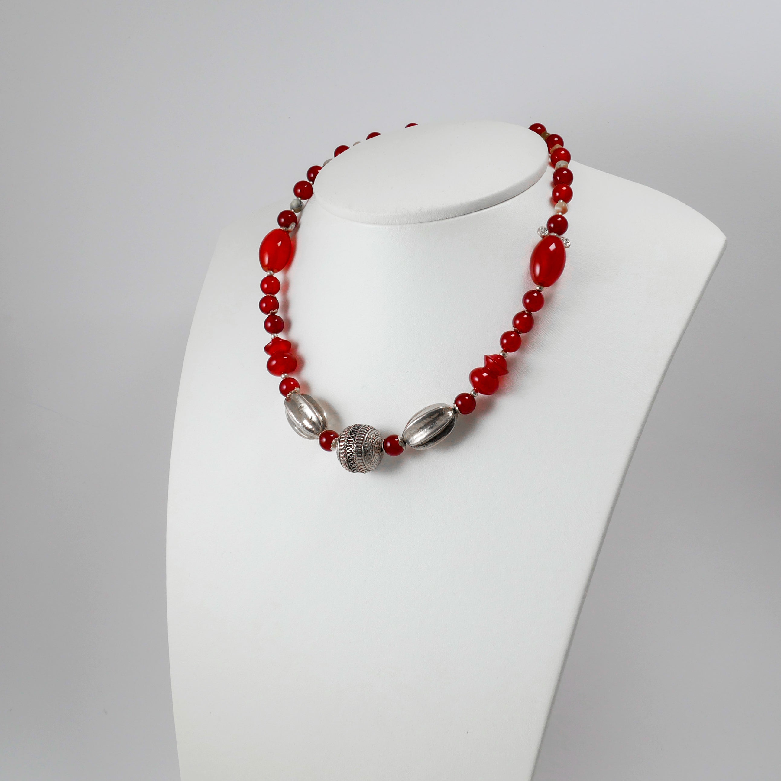 Traditional Greek Style Necklace - Katerina Roukouna