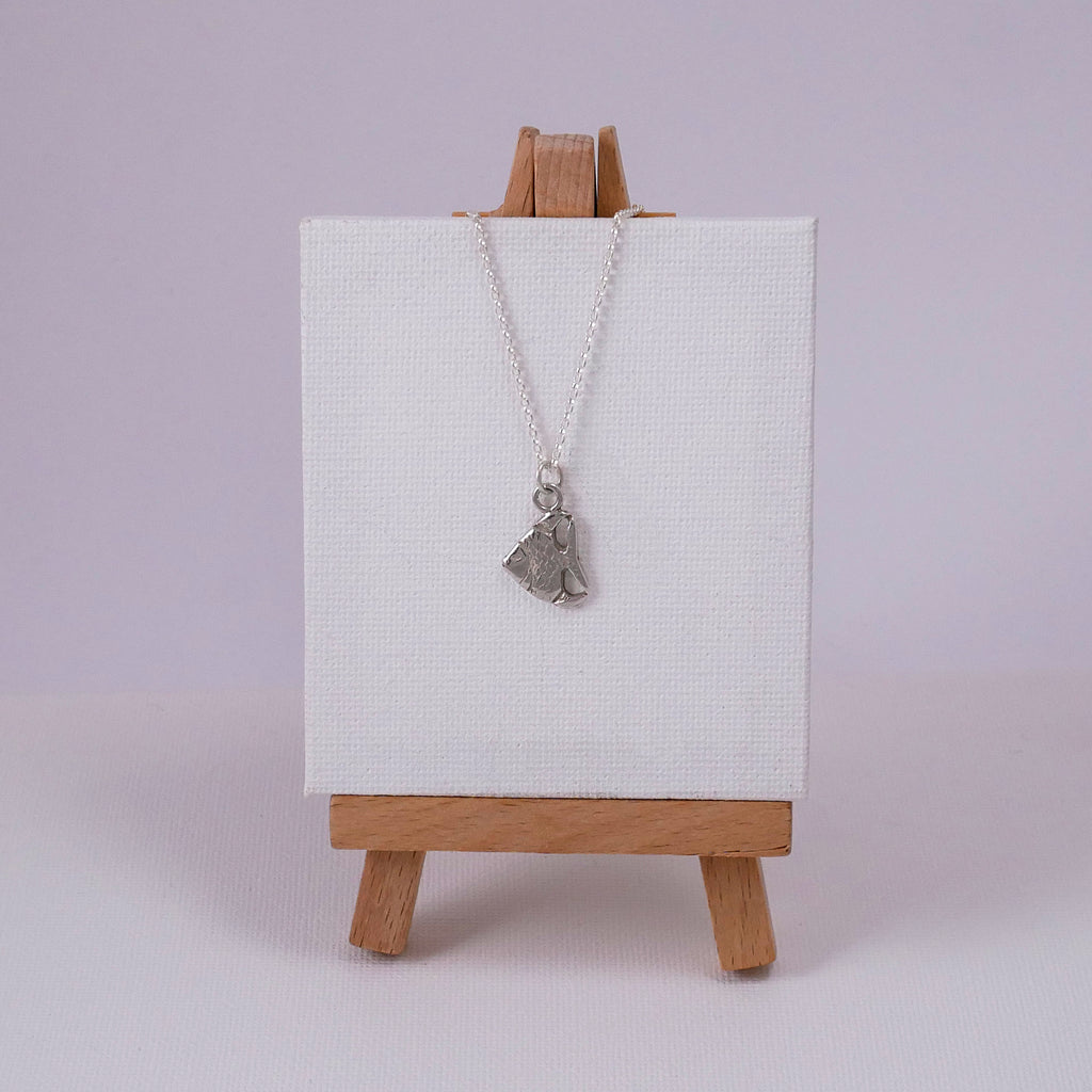 Medium Fish Necklace - Katerina Roukouna