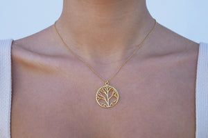 Tree of Life Necklace - Katerina Roukouna