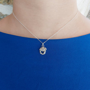 Tiny Crab Necklace - Katerina Roukouna