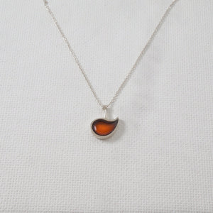 Brown Drop Pendant