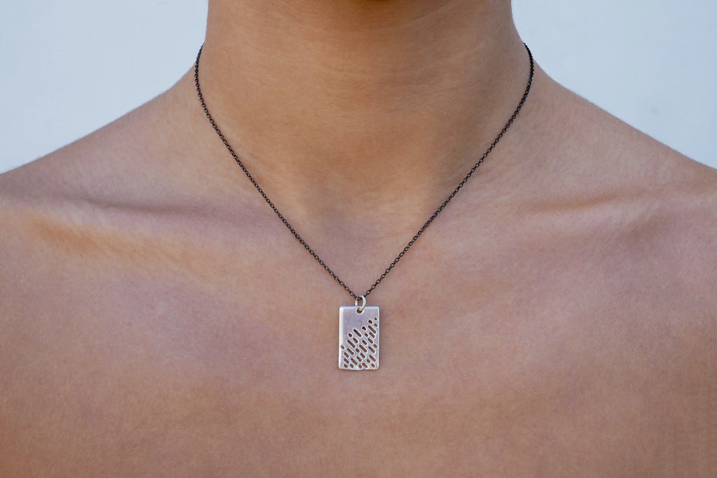 Rectangle Necklace - Katerina Roukouna