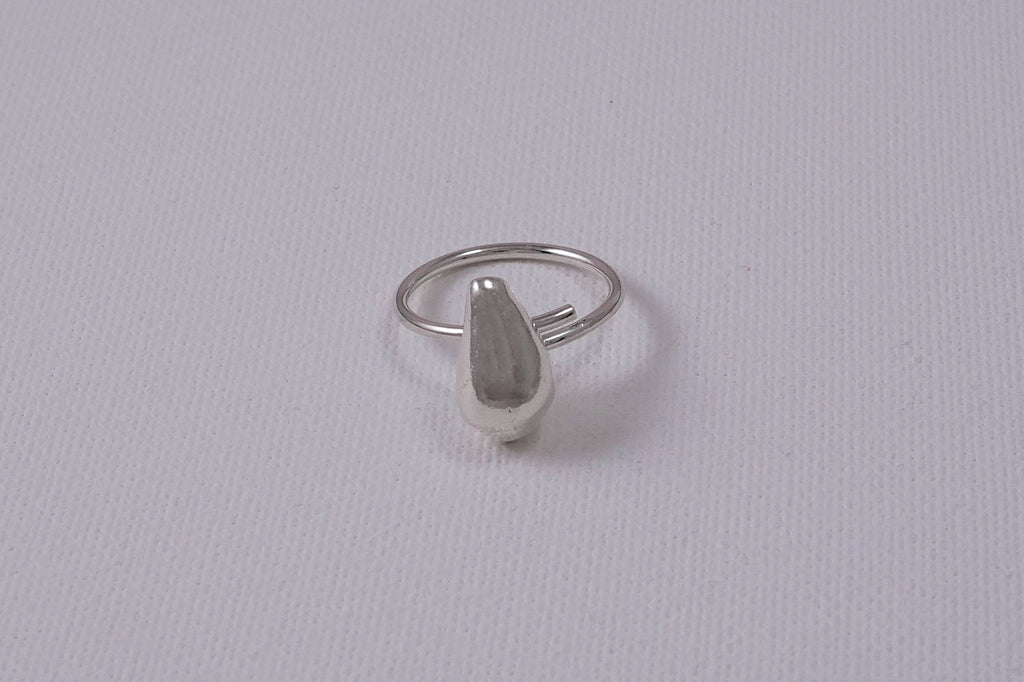 seashell-silver-ring