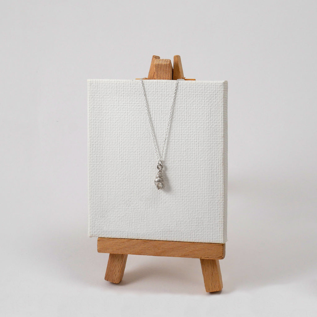Tiny Conch Necklace - Katerina Roukouna