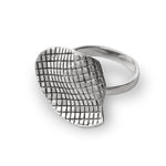 Load image into Gallery viewer, MESH Silver Ring - Katerina Roukouna