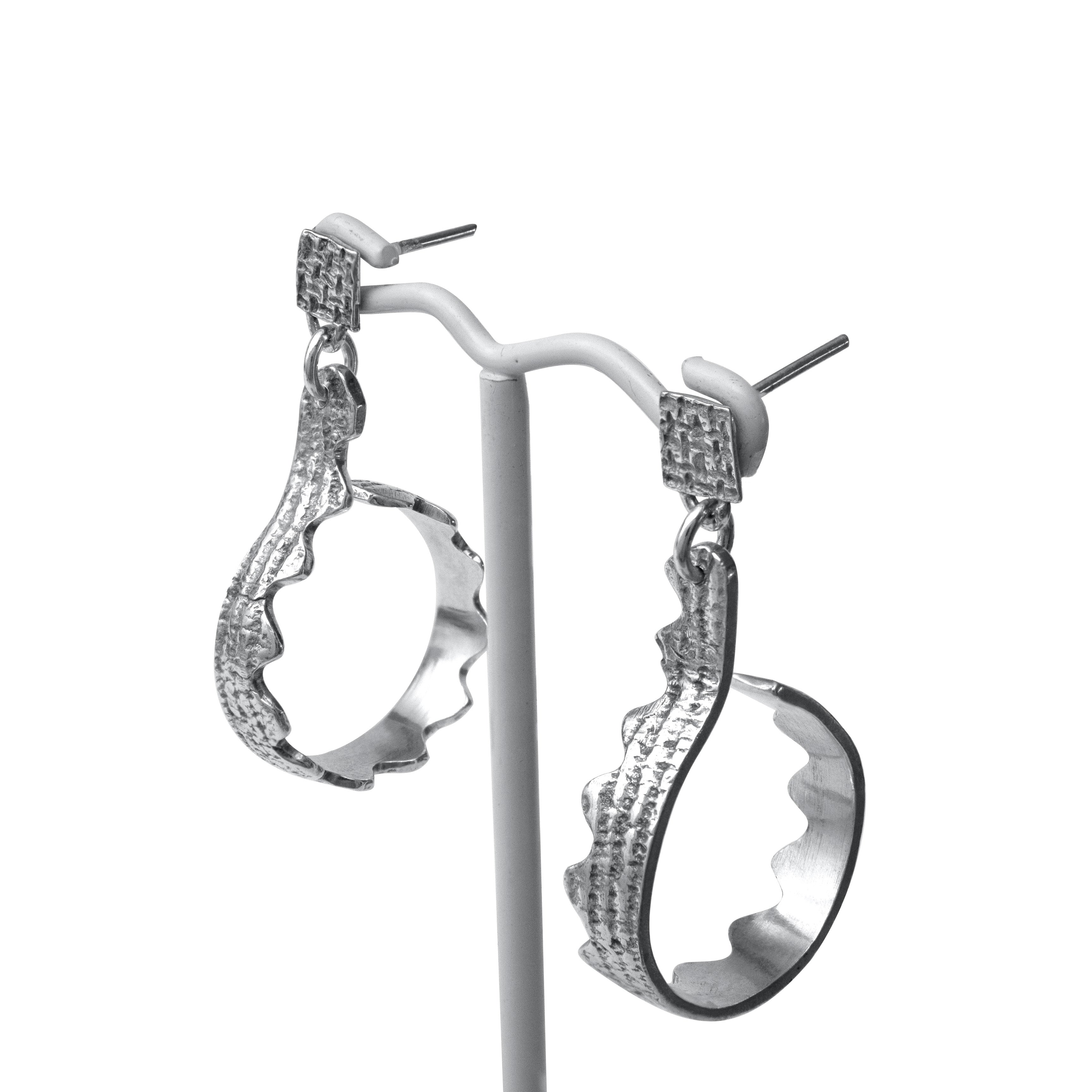 SIERRA Silver Earrings - Katerina Roukouna
