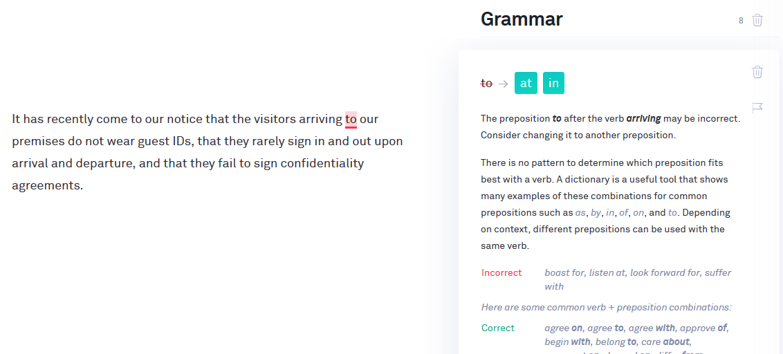 Grammarly Review Walk Through Pros Cons And Examples