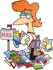 Have you checked your mail this week? It is already Thursday!