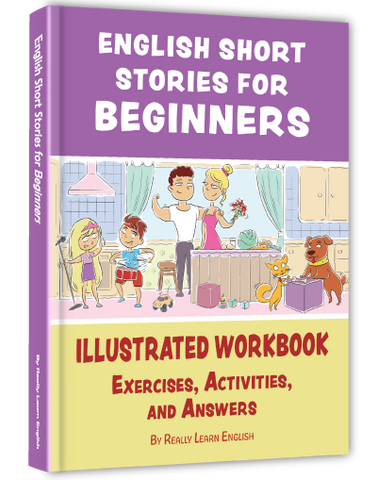 PRE-ORDER NOW: English Short Stories for Beginners (Also Suitable for Children)