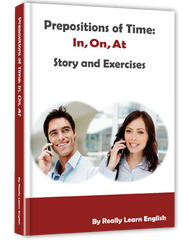 Prepositions of Time:  In, On, At