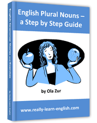 English Plural Nouns, a Step by Step Guide