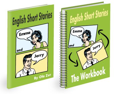 English Short Stories Book and Workbook, English Lessons for Beginners