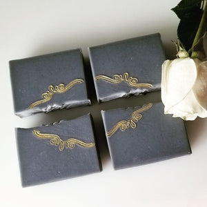 Dead Sea Salt & Charcoal  Soap