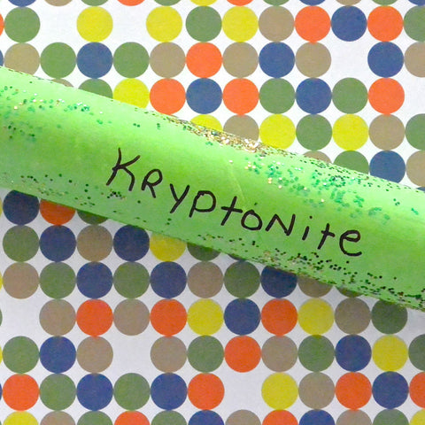 Shipping Tube Kryptonite Fun: Craft