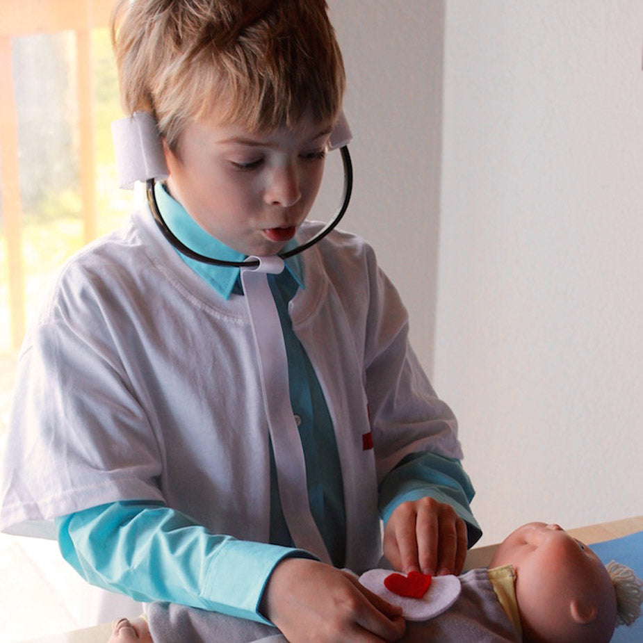 DIY Kid's Stethoscope
