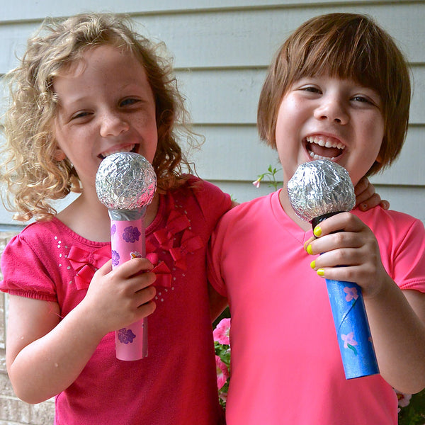 Microphone Pretend Play Craft