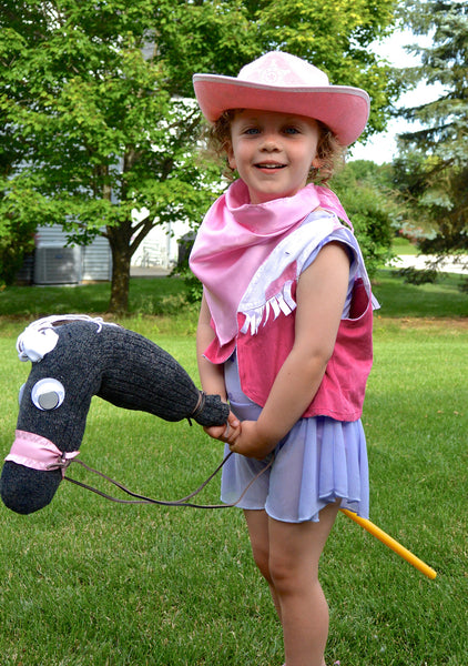 Cowboy and Cowgirl Sock Horse: Craft