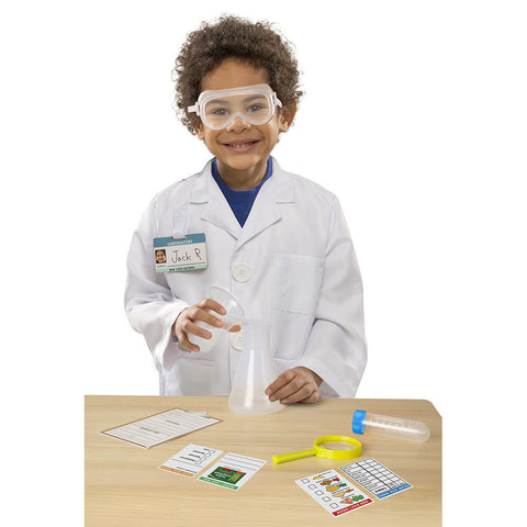 Scientist Costume Pretend Play Set