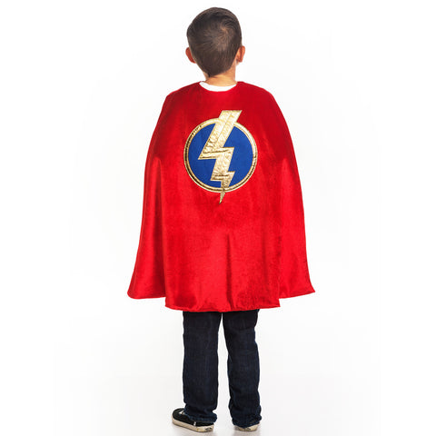 Red Lightning Superhero Pretend Play Package