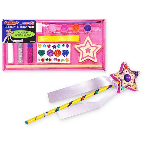Princess Wooden Wand Craft