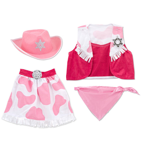 Cowgirl Costume Pretend Play Set