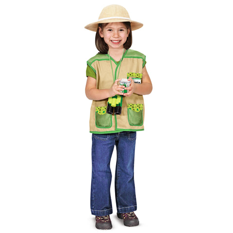 Backyard Explorer Costume Pretend Play Set