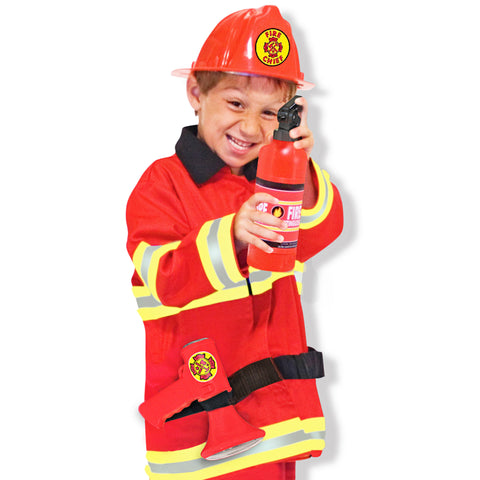 Firefighter Costume Pretend Play Set