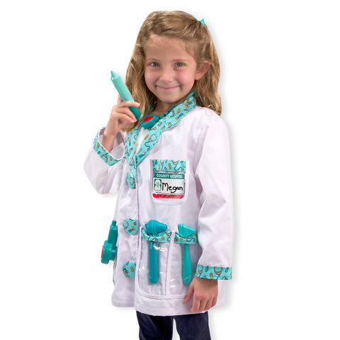 Doctor Costume Pretend Play Set