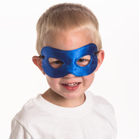 Superhero Reversible Mask Navy/Green