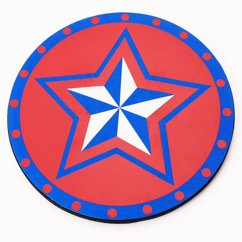 Superhero Shield Red/Blue
