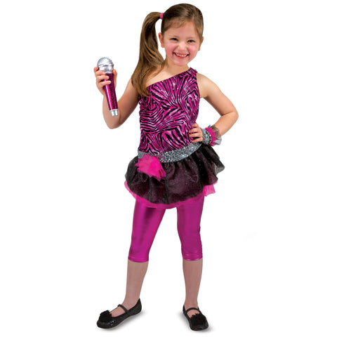 Rock Star Costume Pretend Play Set