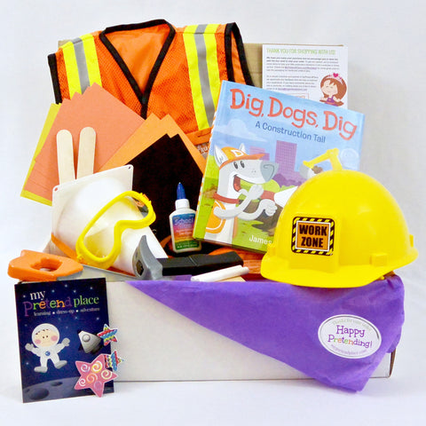 Construction Worker Pretend Play Package