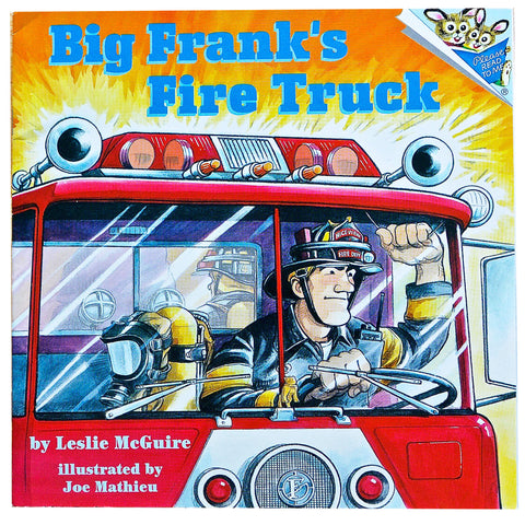 Big Frank's Fire Truck by Leslie McGuire