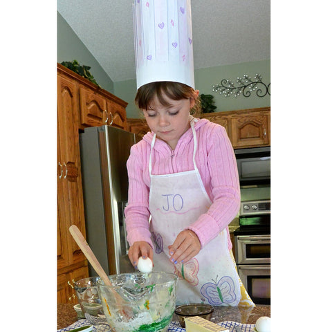 Chef Hat and Apron DIY Pretend Play Project