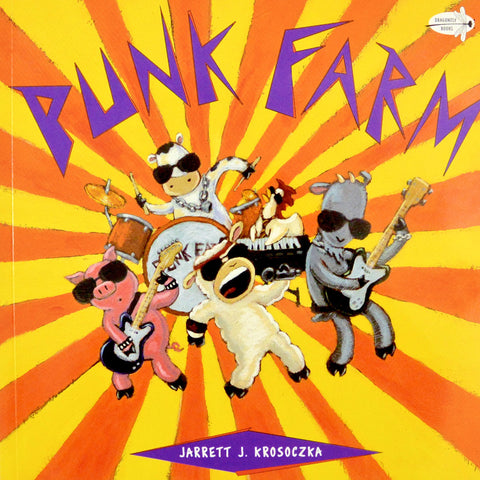 Punk Farm book by Jarrett Krosoczka