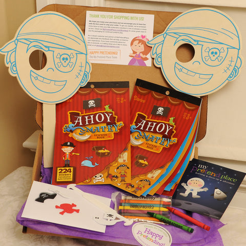 Pirate Mask DIY Pretend Play Project